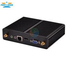 Тонкий Клиент Mini PC с Quad Core Pentium N3510 Безвентиляторный Домой Компьютерная Поддержка XBMC Windows Android 1080 P