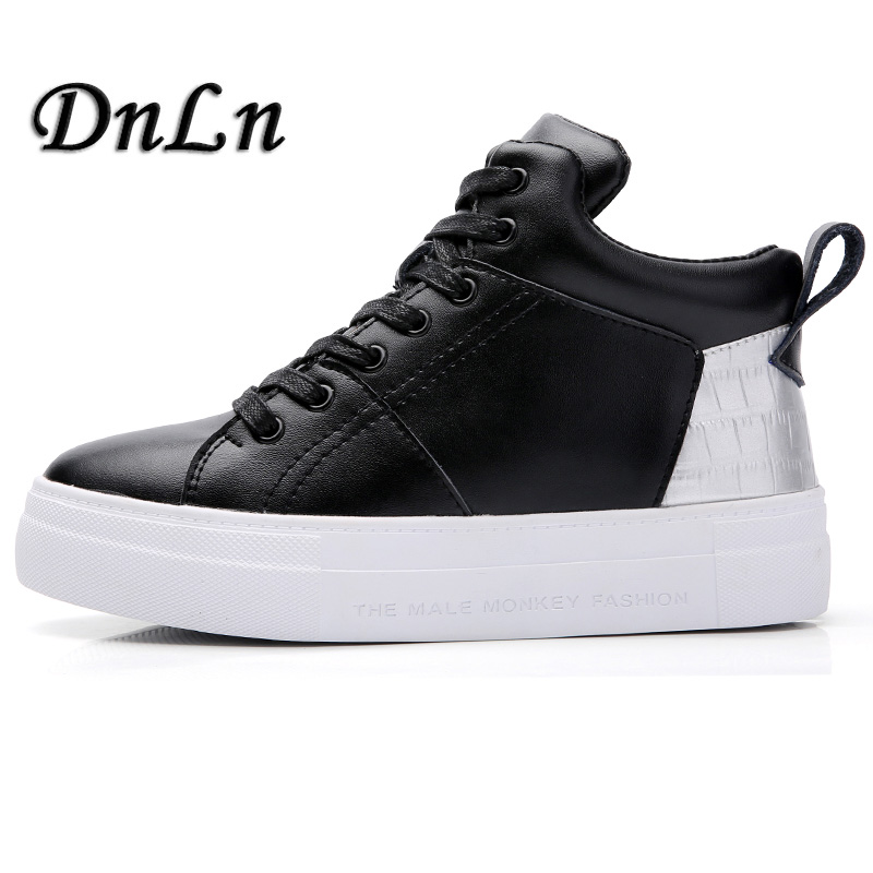 Size 35~40 Spring Autumn Female Fashion Sneakers Women Lace-Up Platform Shoes Height Increasing D30 designer crystal day party clutches evening purses high quality new fashion agate luxury handbags women bags smyzh e0055
