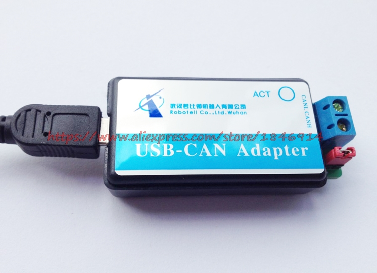 Image 1 - Free shipping CAN Bus Analyzer  USB to CAN  USB CAN debugger / adapter / communication / converter-in Electronics Stocks from Electronic Components & Supplies