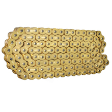Chain With   520 525 530 O Ring 120 Link Motorcycle Pit Dirt Bike MX Motocross Enduro Supermoto Racing ATV Quad motorcycle parts 530 120 drive chain 530 pitch heavy duty gold o ring chain 120 links for suzuki hayabusa gsxr1300 99 07