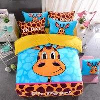 Cartoon Farley Wool Bedding Set Duvet Cover Bed Sheet Pillowcase Bedding Set Queen Twin Size