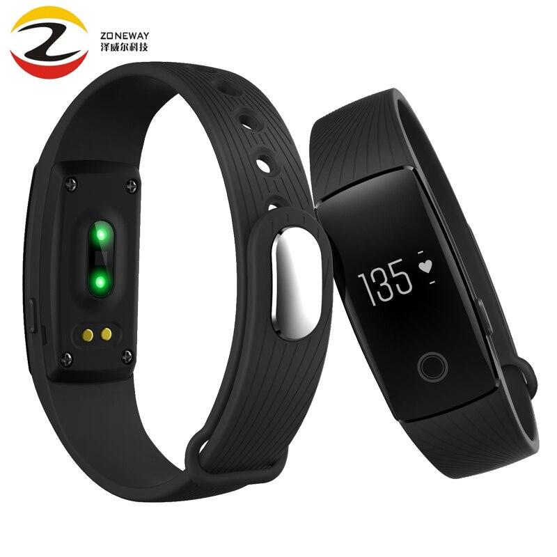 ID107 Activity Tracker Monitor Cardiaco Smartband Heart Rate Smart Band VS Fit Bit Miband 2 Mi Band 1s Fitbits Smart Wristband