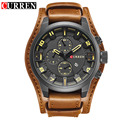 CURREN Mens Watches Top Brand Luxury Wrist Watches Male Clock Men Leather Analog Quartz Military Watch Relogio Masculino 8225