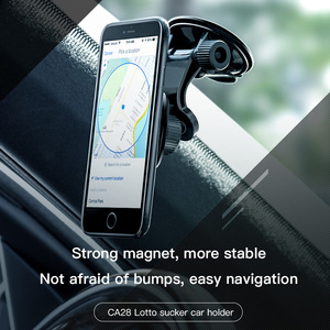 Image 5 - HOCO Windshield Mount Car Phone Holder For Samsung S9 S8 360 Dashboard Car Magnetic Holder For iPhone Xs Phone in Car Stand