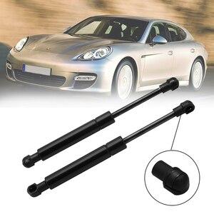 Image 1 - 2 sztuk przednia maska wsparcie podnoszenia okapu pręt przedni Trunk hydrauliczna sprężyna gazowa zawieszenia pręt dla Porsche 911 Boxster Cayman