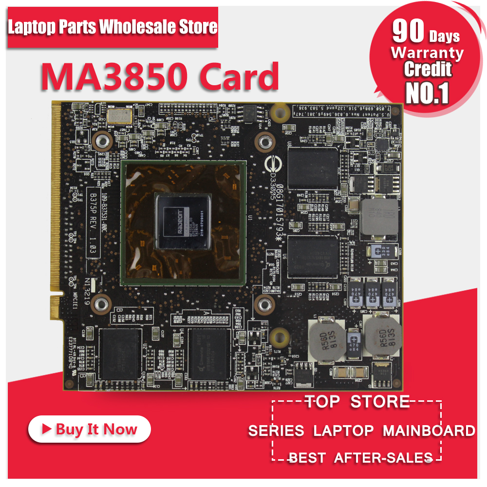 Original Video card For ASUS notebook MA3850 216-0709001 graphic card original used hd3650 512mb 216 0683013 graphic card for acer 4710 4920 4720 display video card gpu replacement tested working
