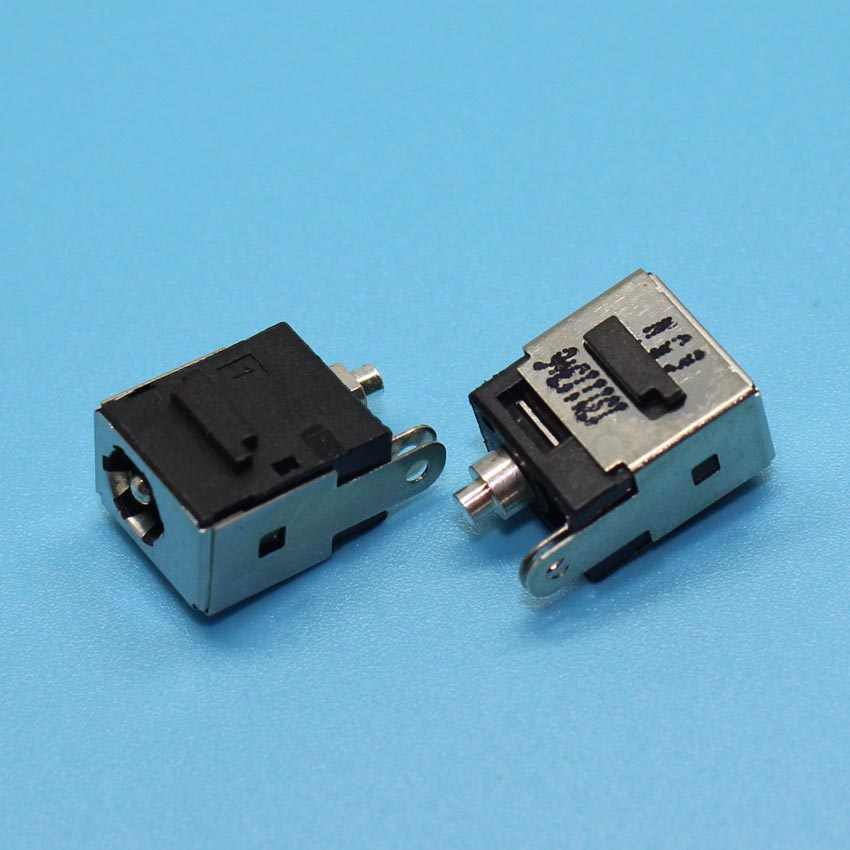 YuXi DC Güç jack konnektörü DELL Mini 9 10 11 12 910 1010 1210 Için DV5000 C300 V5000 DV8000 DC JACK, pin = 1.65mm