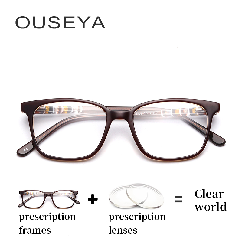 2000d83c12a Detail Feedback Questions about Acetate Women Retro Optical Glasses Vintage  Retro Aspherical Astigmatism Classic Transition Lens Thin Eye Glasses For  PC ...