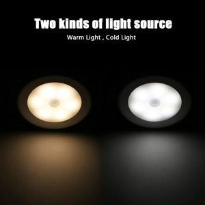Image 2 - Coquimbo Cordless Battery Powered Wardrobe LED Night Light Magnet PIR Motion & Light Sensor Light Stick anywhere Stair Lights