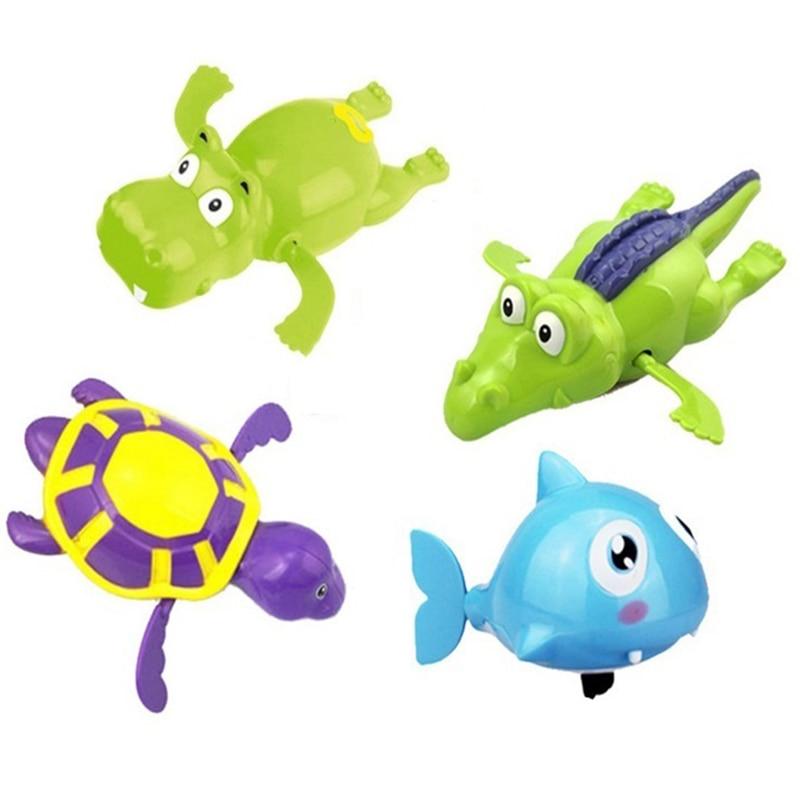 4pcs/lot Colorful Baby Bath Toys Cute BPA Free Swimming Tub Toys ...