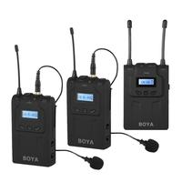 Condenser Conference Handheld Omnidirectional Microphone Wireless 2 Transmitter 1 Receiver Microphone system