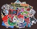 Colocación al azar 50 unids Mezclados Hit Divertido Pegatinas Para Niños En Frigorífico Skateboard Laptop Sticker Decal Pegatinas Doodle de Juguete
