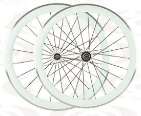 700C cheap price chinese carbon road bike clincher wheels 50mm paint white colour alloy brake surface