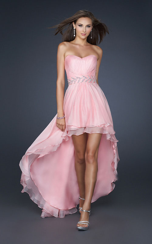 vestidos rosa bebe