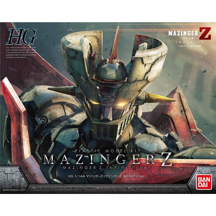 SUPER ROBOT modèle HG 1/144 INFINITY MAZINGER Z armure non enchaînée costume Mobile enfants jouets