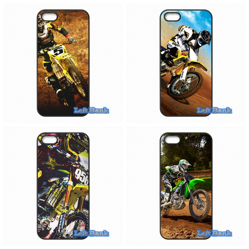 motorcycle race Moto Cross Phone Cases Cover For Apple iPhone 4 4S 5 5S 5C SE 6 6S 7 Plus 4.7 5.5 iPod Touch 4 5 6