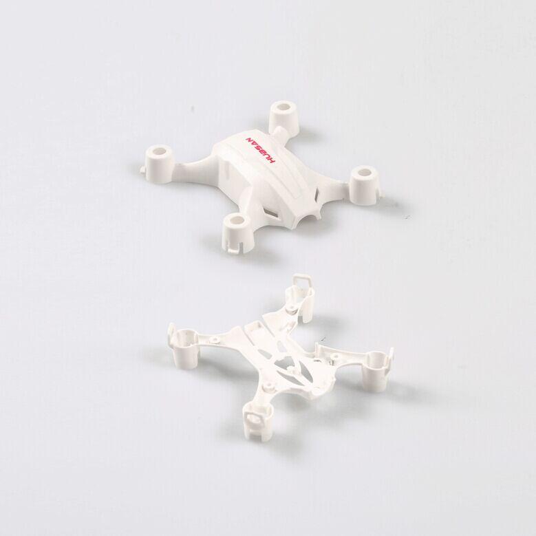 Hubsan H002 NANO Q4 Mini RC Cam Quadcopter Spare Parts Body Shell Set H002-01 for Mini Pocket Drone H002 RC Toys Aircraft Quad