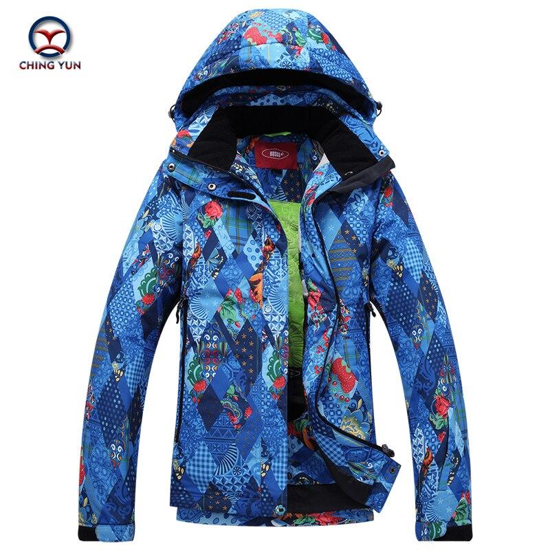 2017 winter women Geometric printed cotton coat windproof waterproof thermal cotton coat ladies jacket and trousers sets 9652 цены онлайн