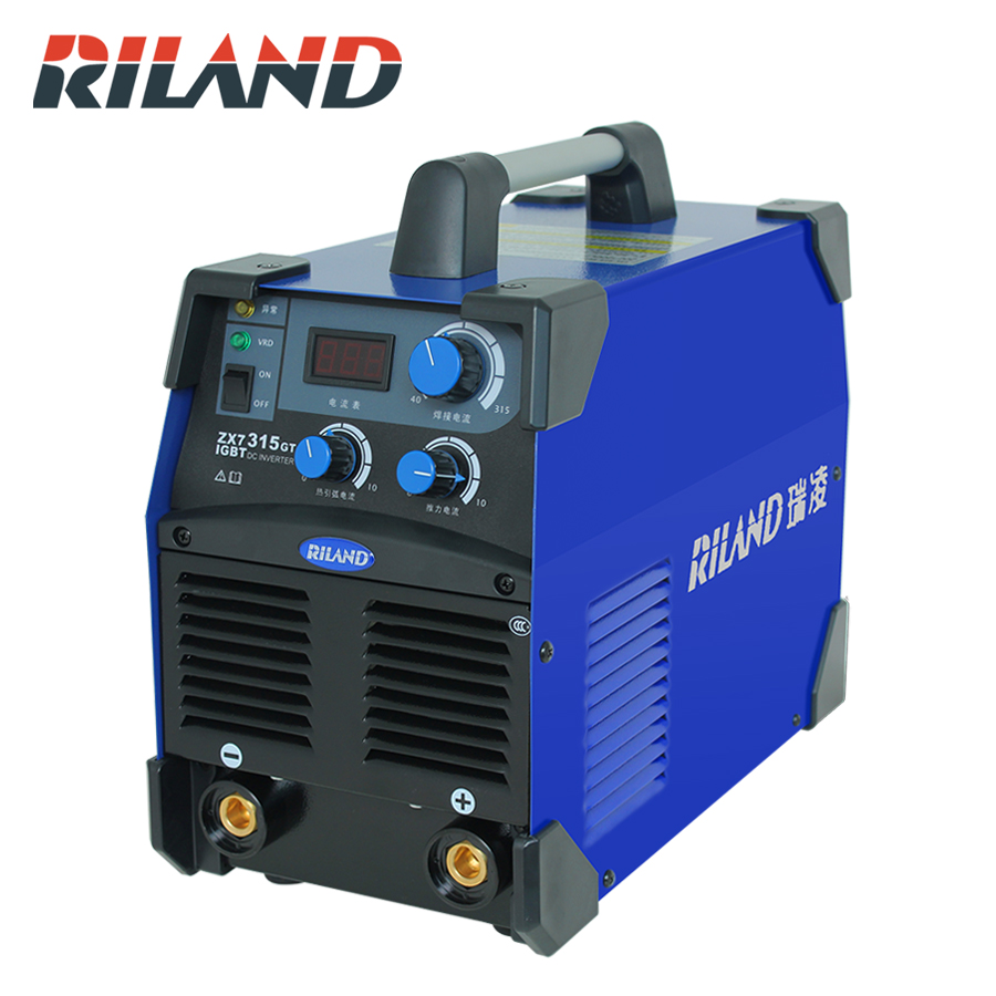 RILAND Z315GT 380V Electric Welding Working Machine Welder IGBT Industrial Inverter With Single-use Argon Arc Welding Machine 5pcs lot argon arc welding machine repair welding inverter welding machine potentiometer screw cap 6 mm commonly used parts