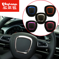 Car Steering Wheel Stainless Steel Wheel Decorative Circle Sequins Cheap Stickers 3D For Audi A4 A5