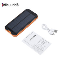 Tollcuudda 10000mAh LHSJ01 Ultra Light External Battery Power Bank Portable Double USB Interface Fast Charger For
