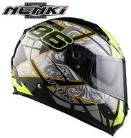 2017 Hot Promotion Racing Motorcycle Helmet Nenki Brand 856 Motorbike Full Face Helmet Capacetes Casco FF856