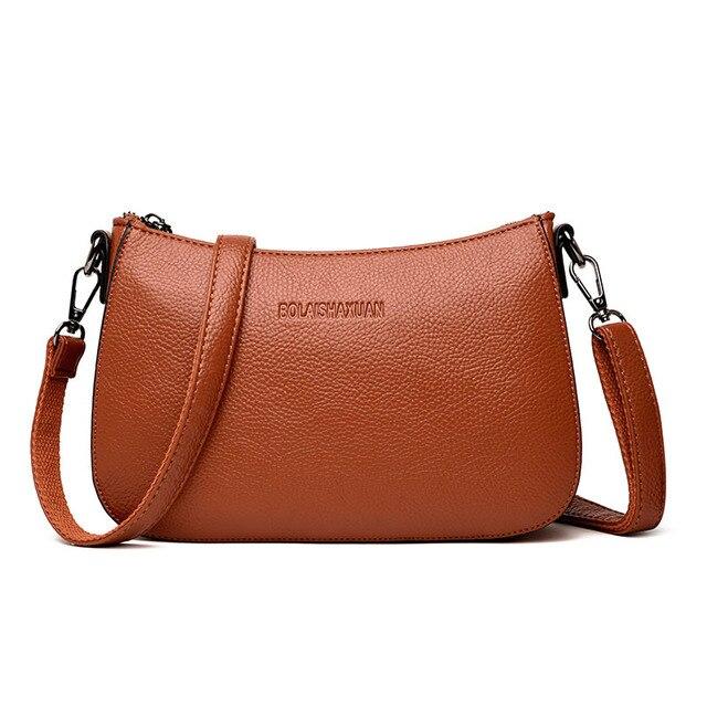 1eb62c0200f6 Chu JJ High Quality Women s Genuine Leather Handbags Shoulder CrossBody Bag  Ladies Messenger Bags Women Bags