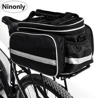Outdoor Waterproof Storage Bag Bicycle Pannier Portable Carrying Package Rack Pannier Rainproof Foldable Water Bottle Bag