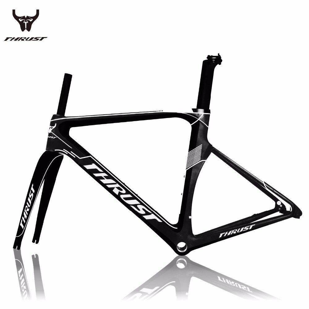 Carbon Road Bike Frame 2017 Road Bicycle Frame Carbon Fiber T1000 Frames Fork Headset Seatpost Clamp Carbon Frame Bicycle Parts