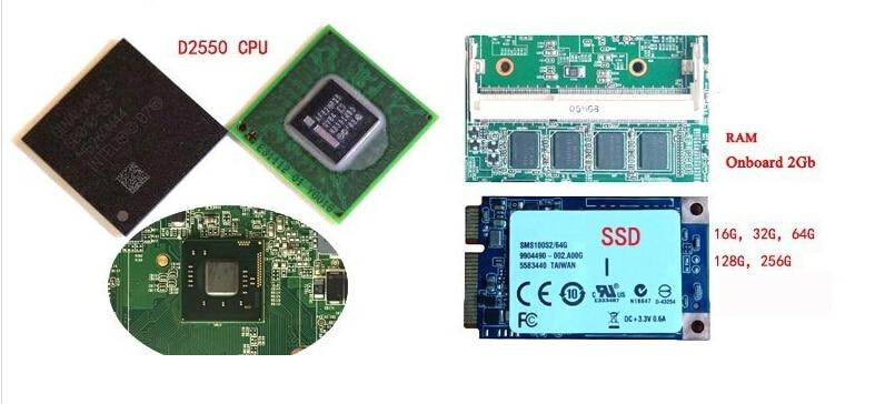 10 Inch 2GB RAM & 32GB SSD Cheap MINI Fanless Industrial Panel Pc