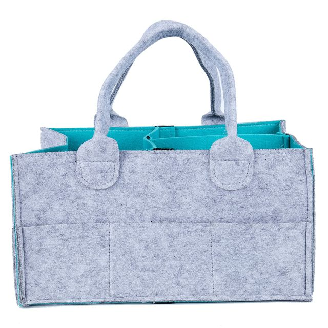 Baby Diaper Caddy Organizer Portable Nursery Storage Bin Wipes Bag