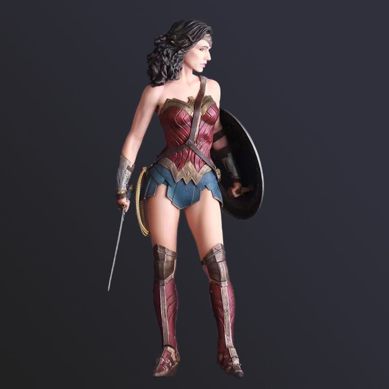 DC Wonder Woman Figures Justice League 12'' Movie Action Figure Anime Doll Collectible Model Toy for Children Kids Gift in box new hot 18cm super hero justice league wonder woman action figure toys collection doll christmas gift with box
