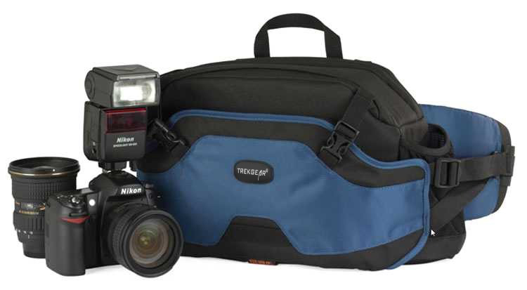 TrekGear Inverse 200 AW DSLR Beltpack Digital Camera Case Waist Bag Carry Backpack Shoulder photo Bag for nikon canon сумка lowepro inverse 200 aw black