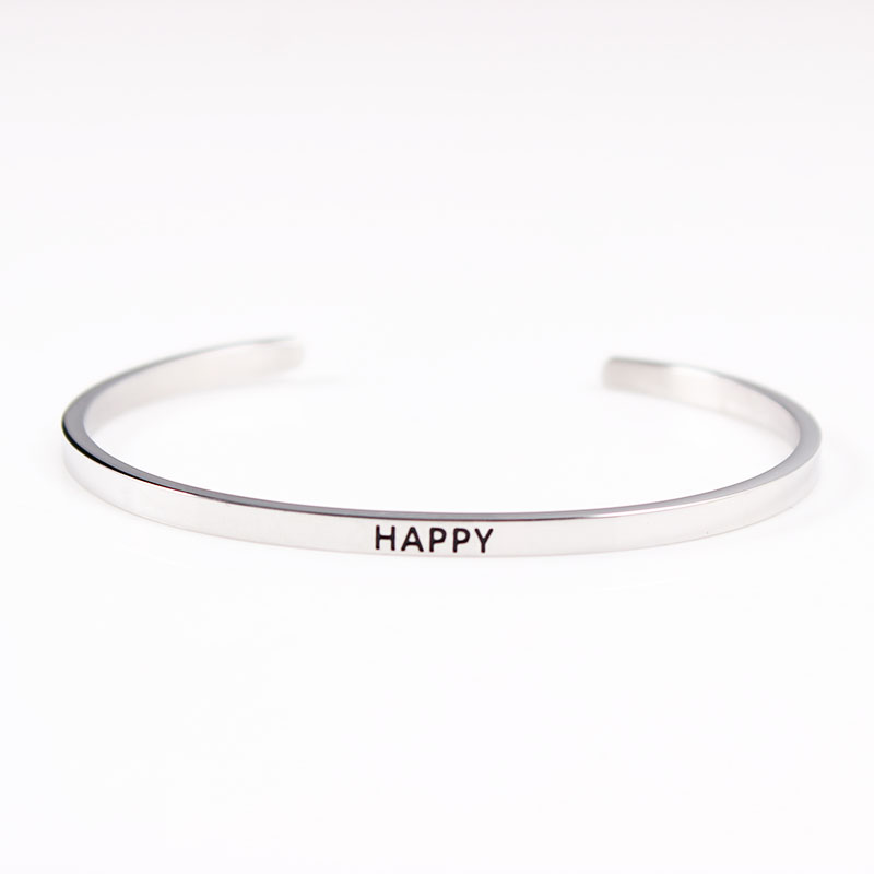 stamped hand out bangle silver bracelet cut bracelets personalized family