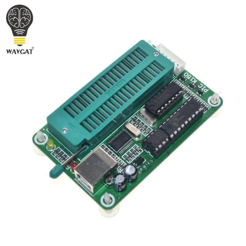 1 sztuk/partia PIC K150 ICSP programator USB automatyczne programowanie opracowanie mikrokontrolera + kabel USB ICSP