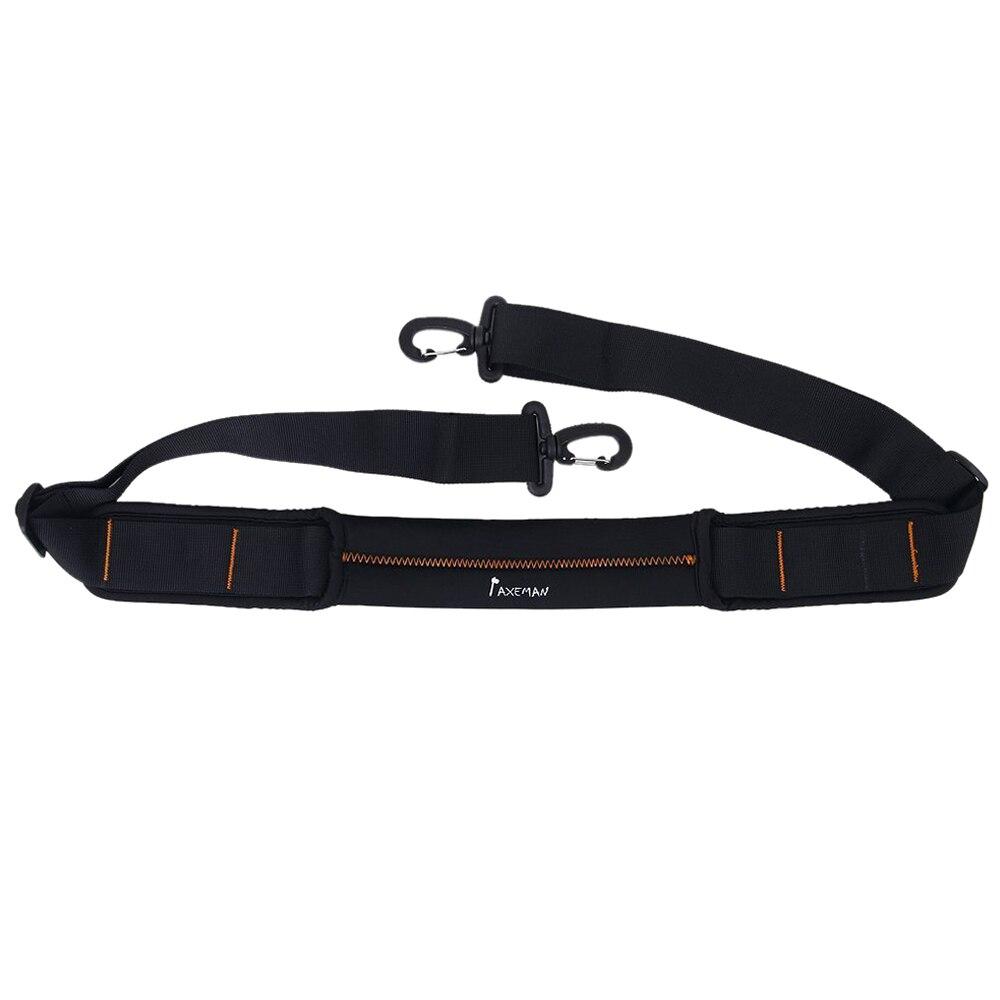 AXEMAN Non-slip Shock Absorbing Shoulder Strap for Shoulder Bag Black