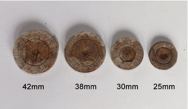 90pcs,25mm Jiffy Peat Pellets Seed Starting Plugs Starter Pallet Seedling Soil Block Professional Easy To Use