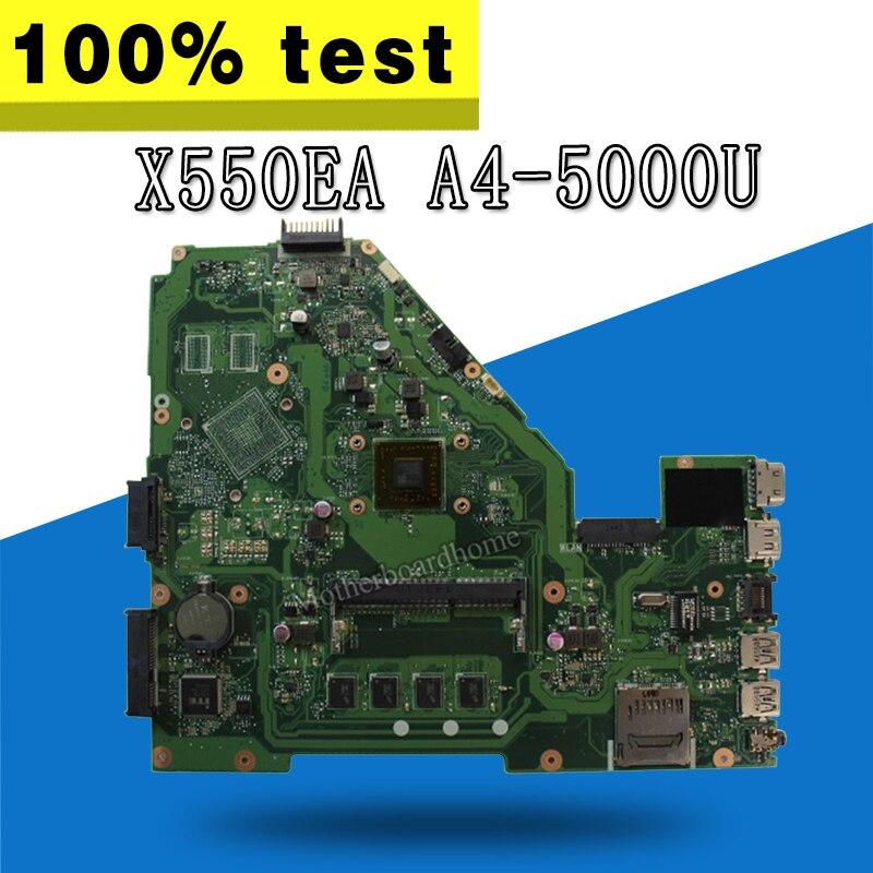 все цены на X550EA Motherboard E1-2100-2G RAM For ASUS X550EA X550E X550EP Laptop motherboard X550EA Mainboard X550EA Motherboard test ok онлайн