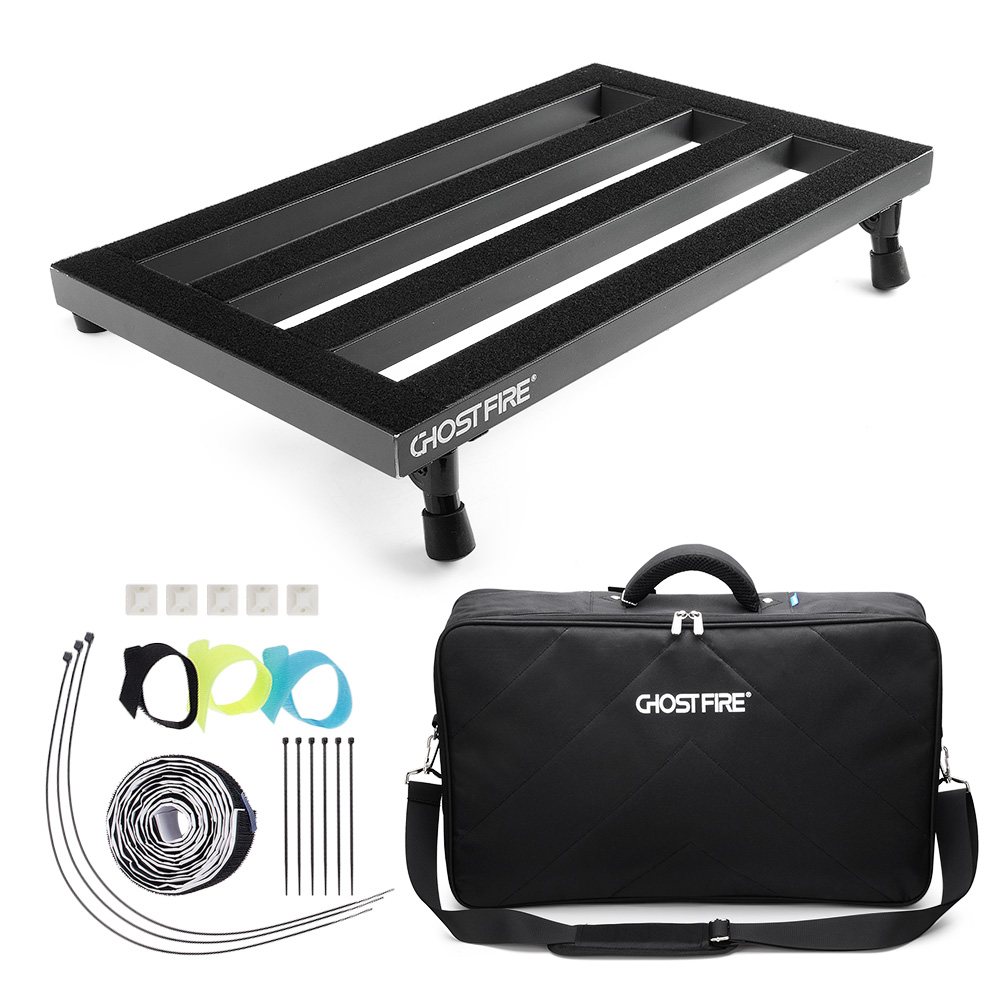 guitar pedal board lightweight pedalboard 19 8 x 11 5 inch with carry bag pedal cable tie. Black Bedroom Furniture Sets. Home Design Ideas