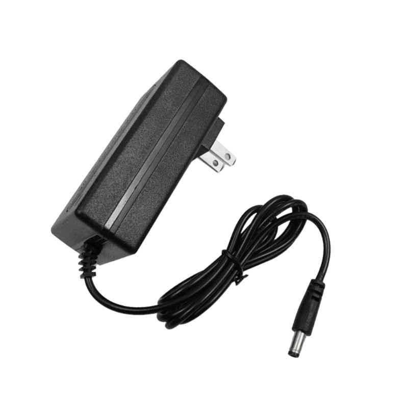 21V 1A 18650 Lithium Batterij Oplader DC 5.5x2.5MM Power Jack Socket Vrouwelijke Panel Wall Mount Opladen adapter Connector