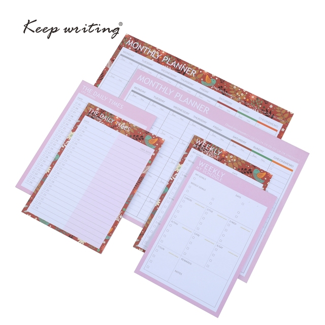 monthly planner weekly my schedule the daily times life journal