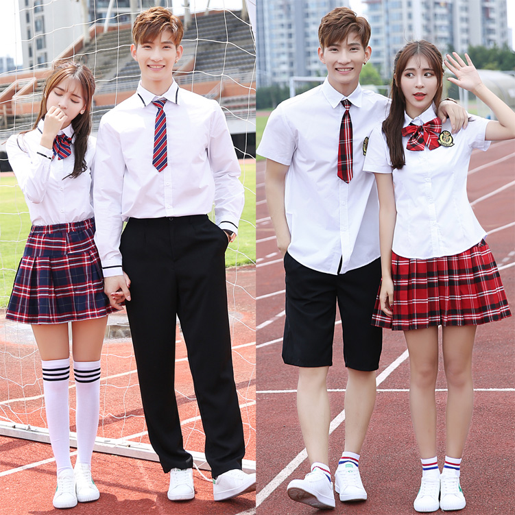 New JK England Uniforms High School Junior High School Students Uniforms Autumn College Wind Suits Korean Campus Clothing