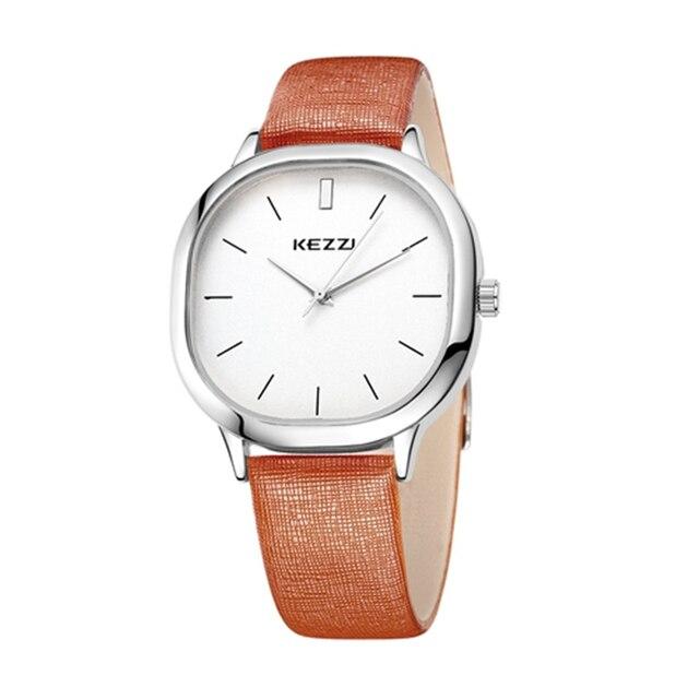2016 Топ люксовый бренд Бизнес часы Для женщин модные спортивные кварцевые часы кожаный ремешок Наручные часы Relogio Masculino k1155