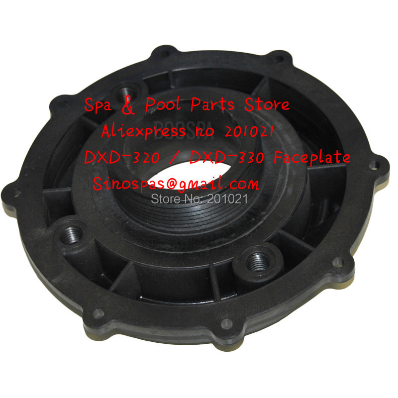 DXD motor pump wet end cover DXD-320E FRONT FACEPLATE Compatible with the DXD-320E DXD-330 pumps цена