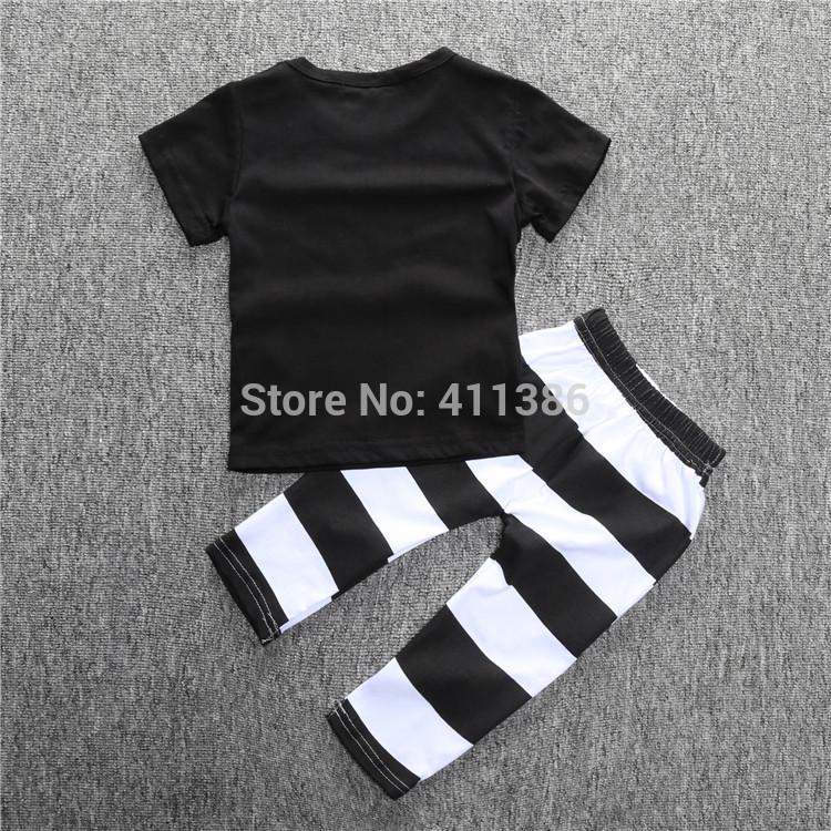 ST189 2017 Nowa dziewczyna przyjazdu i chłopców ubrania ustawić długi rękaw + Spodnie sowa wzór zestaw noworodka ubrania dla dzieci garnitur dzieci odzież 44