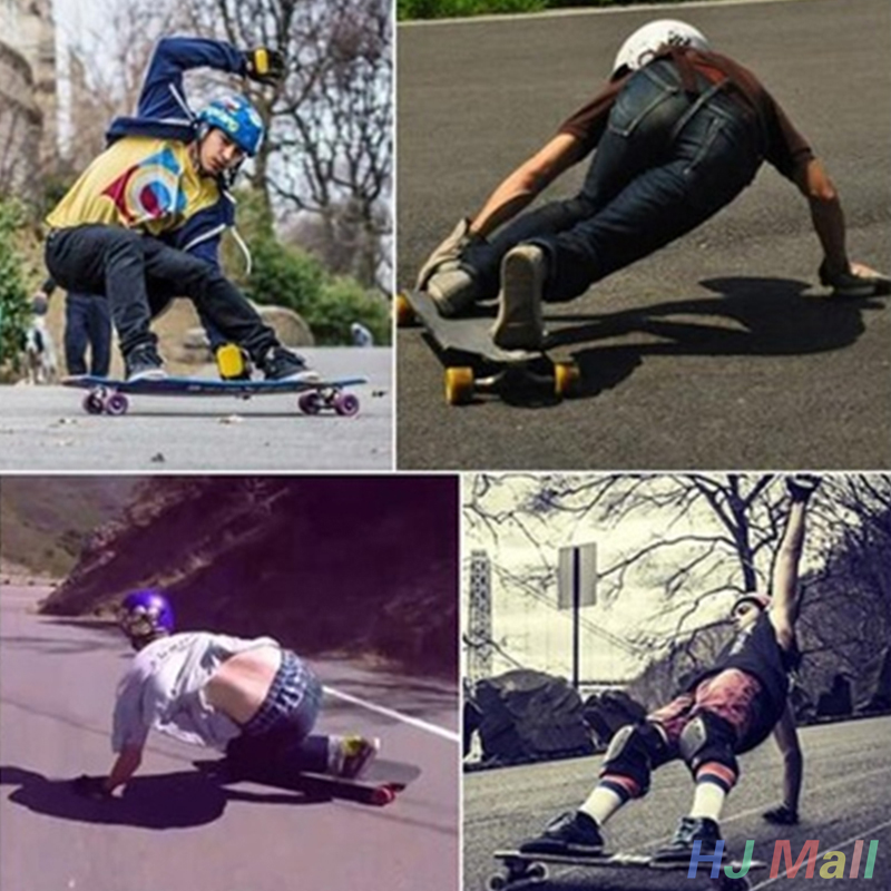 1air  Skateboard/Longboard Sliding FreeRide Gloves Replacement Palm Pucks Skateboard Gloves