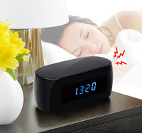 Volemer New HD 1080P Table Clock Camera Mini Camera WIFI Camera Wireless P2P IP Cameras Night
