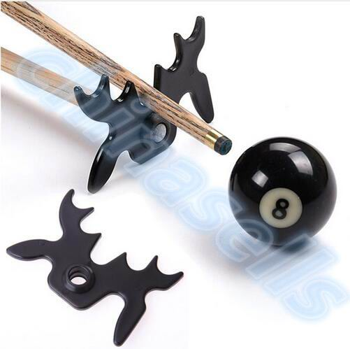 Plastic Billiards Cue Rack Bridge Head Billiards Cross Antlers Rod Holder Snooker Pool Cue Stick Frame Pole Rack Rod Equipment