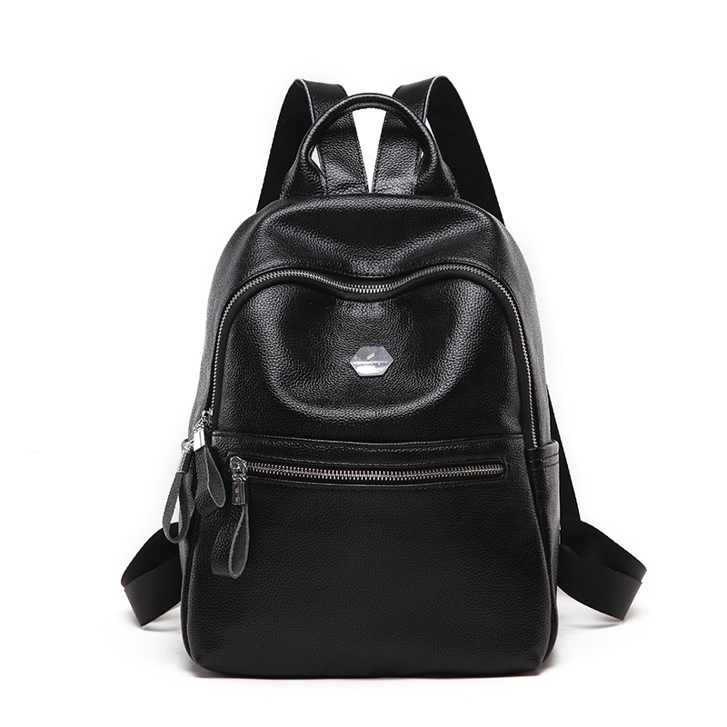 Backpacks for Women High Quality PU Leather Mochila Escolar Schoo for Girls Casual Large Capacity Shoulder Bags Fashion 2018 Hot 2018women backpack new high quality pu leather mochila escolar school bags for teenagers girls top handle large capacity package