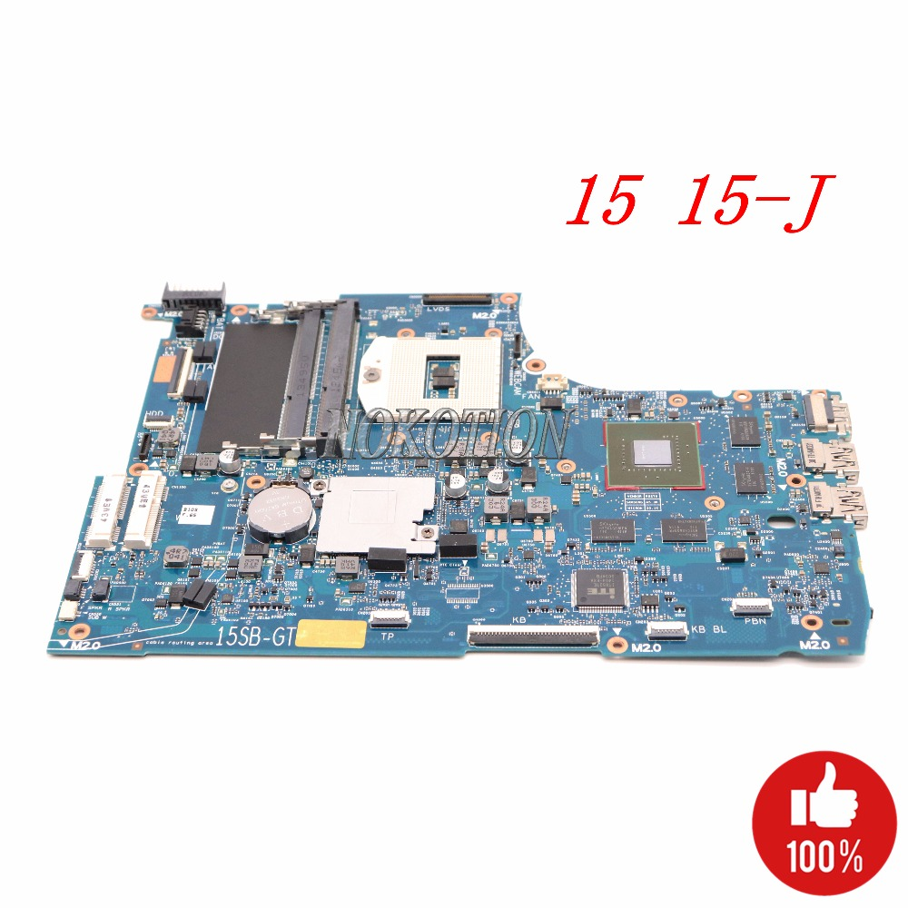 NOKOTION 720569-501 720569-001 741653-001 741653-501 laptop motherboard for HP Envy TouchSmart 15 15-J HM87 gt750M 2G Main board все цены